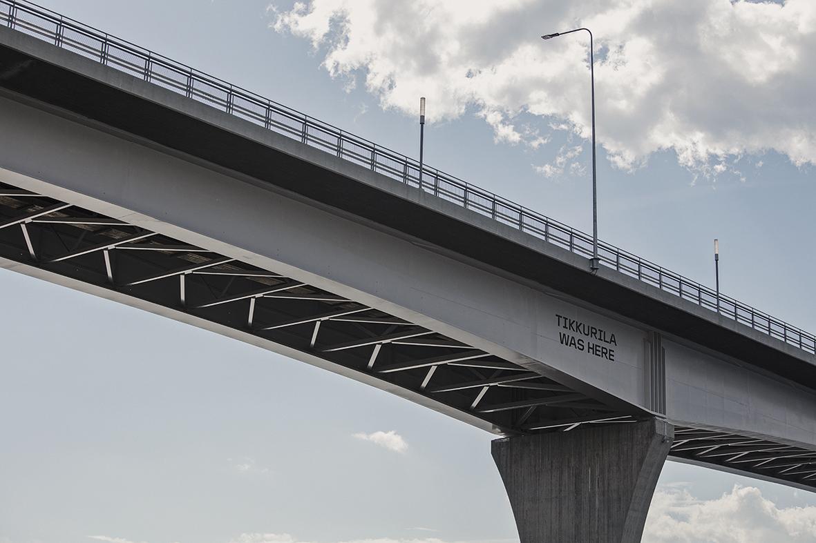 Jännevirran sillan teräsrakenteiden maalauskäsittely